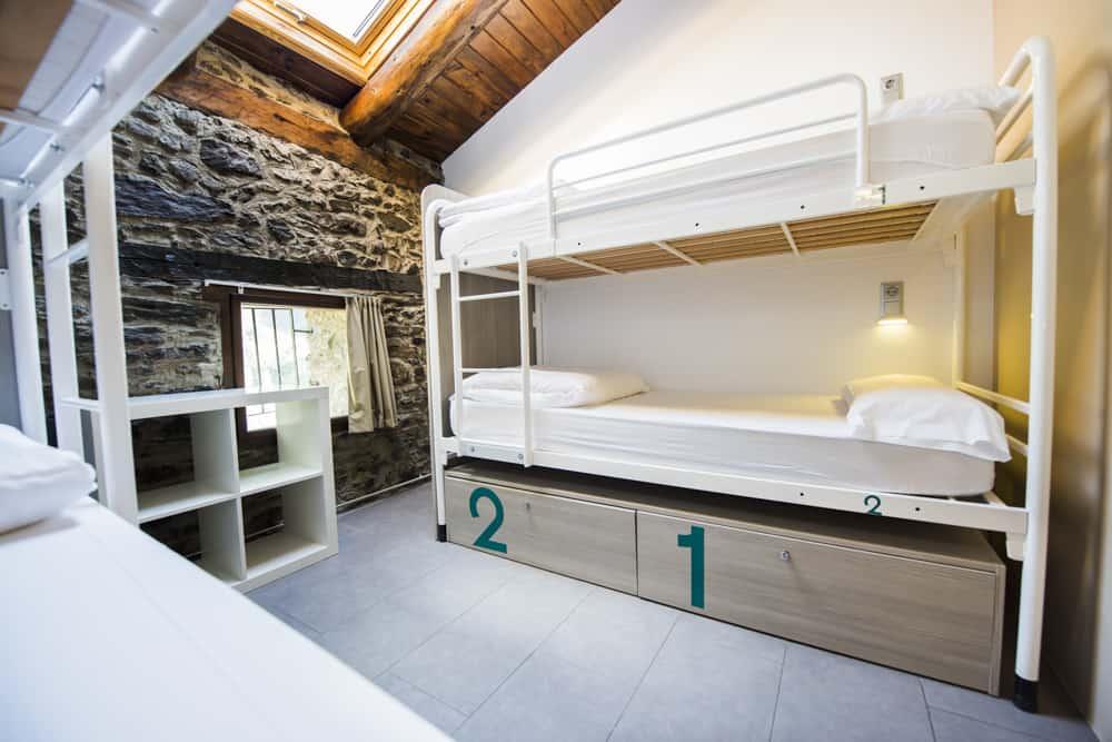 Habitaciones privadas y compartidas en Mountain Hostel Tarter
