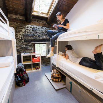 Mountain hostel tarter andorra group room sleeps 4-50