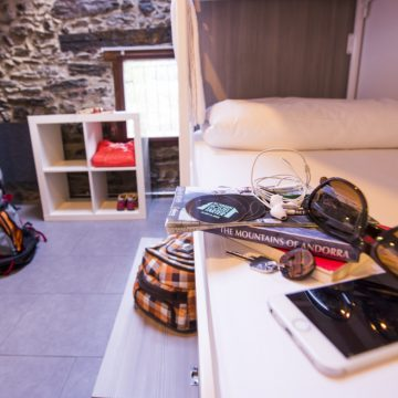 Mountain hostel tarter andorra group room sleeps 5-46
