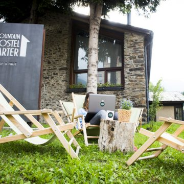 Mountain hostel tarter andorra courtyard-74