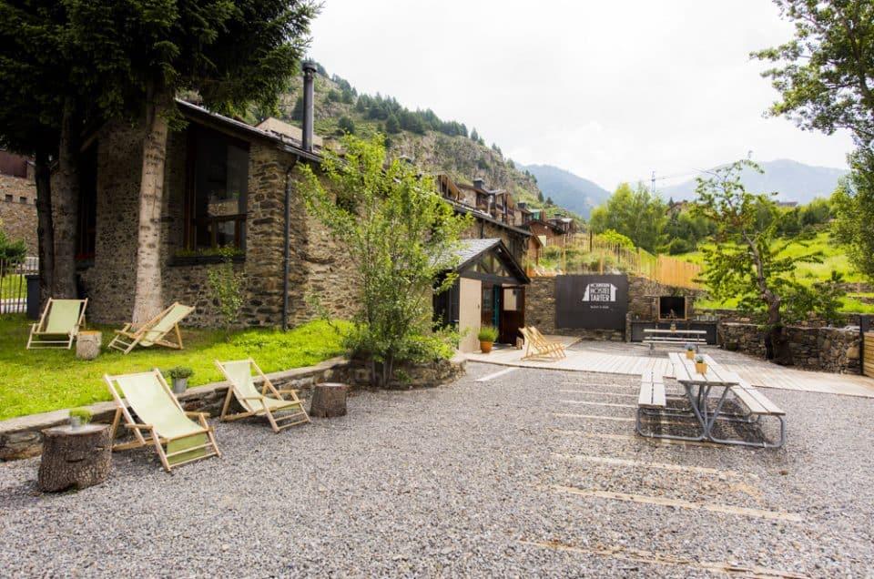 Nace el Mountain Hostel Tarter, en una borda de más de 200 años
