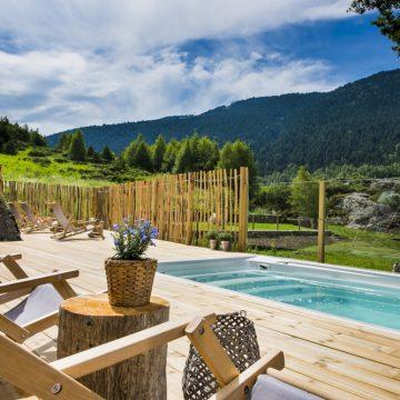 Mountain hostel tarter andorra outdoor pool jacuzzi swim spa-108