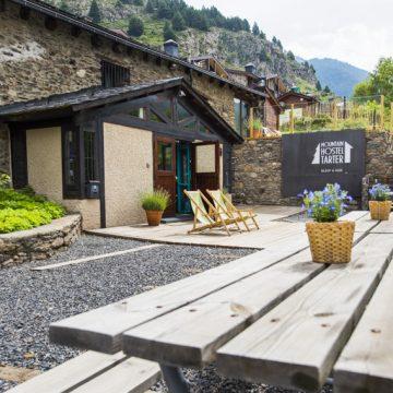 Mountain hostel tarter andorra terrace-91