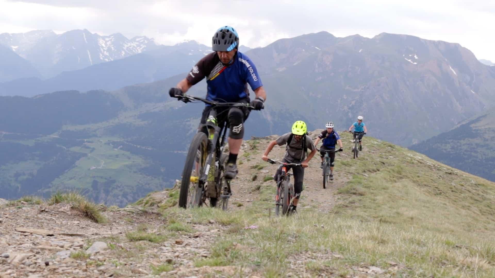 Rutas guiadas MTB Andorra por Mountain Hostel Tarter